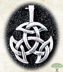 Anhänger Offene Dreifalt Silber